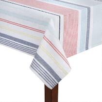 Coastal Living Seascapes™ Striped Tablecloth