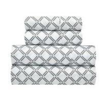Richmond Diamond Microfiber Sheet Set