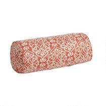 Damask Indoor/Outdoor Lumbar Pillow
