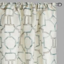 Marlo Geo Window Curtains, Set of 2