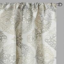 Gray Everest Window Curtains, Set of 2