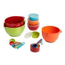 23-Piece Farberware® Mixing Bowl and Prep Set