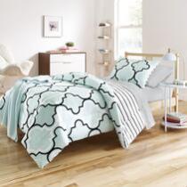 Preppy Frette Twin XL Comforter Set, 6-Piece