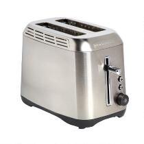 Black + Decker Stainless Steel 2-Slice Toaster