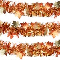 9' Die-Cut Leaf Garlands, Set of 2