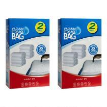 2-Piece Vacuum Storage Bag, Set of 2