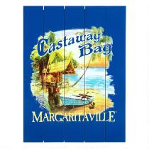 """Margaritaville® 18""""x24"""" """"Castaway Bay"""" All-Weather Wall Sign"""