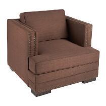 Seaview Nailhead Chaise Chair